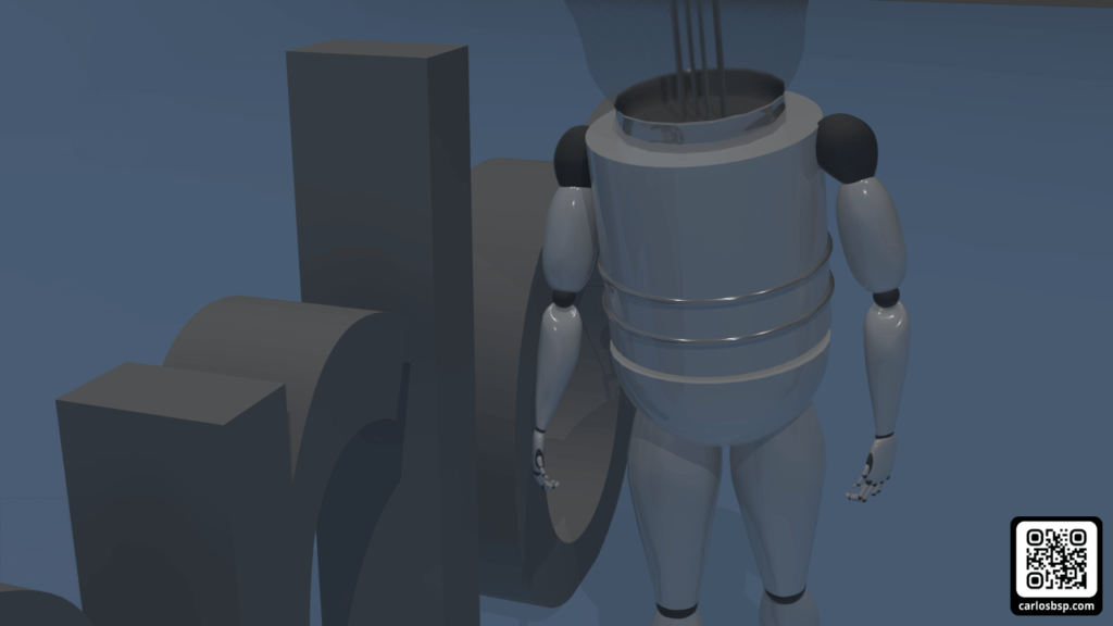 Robot andando